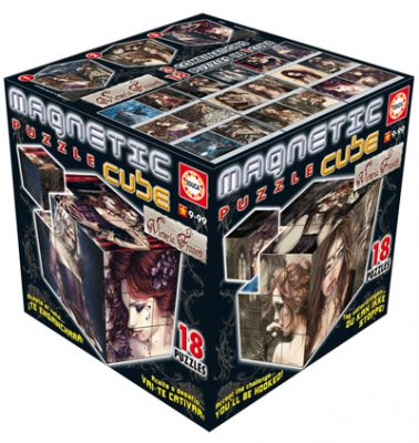 Пъзел магнитни кубчета - VICTORIA FRANCÉS
