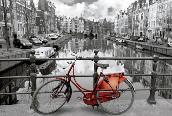 """Картонен пъзел """"Амстердам"""" - 3000 части"""