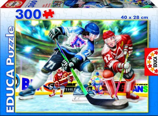 """Картонен пъзел """"Хокей на лед"""" - 300 части"""