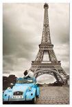 Миниатюрен картонен пъзел Айфеловата кула, Париж