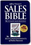 The Sales Bible: The Ultimate Sales Resource, New Edition