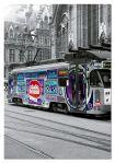 """Картонен пъзел """"Трамваят в Гент, Белгия"""" - 500 части"""